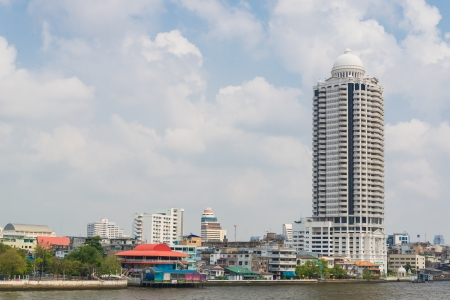 High building in bangkok province (Thailand)