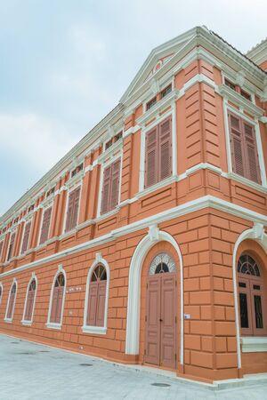 Beautiful building in bangkok province (Thailand)