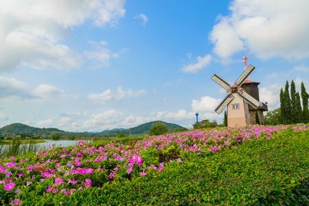 Wind Turbine at chonburi province (Thailand.) Stock Photo - 18620559