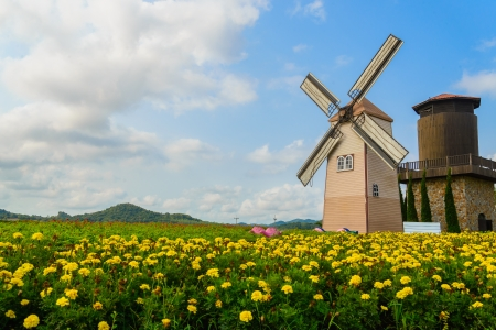 Wind Turbine at chonburi province (Thailand.) Stock Photo - 18620562