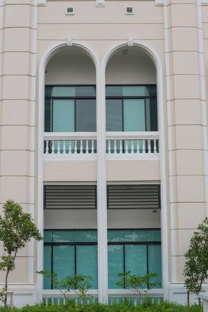 Modern building in bangkok province.