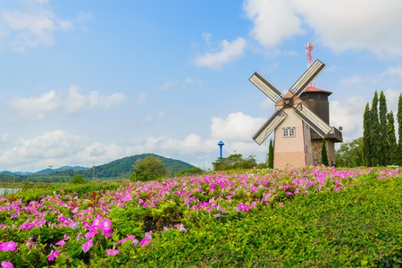 Wind Turbine at chonburi province (Thailand.) Stock Photo - 18667157