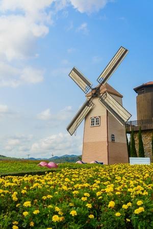 Wind Turbine at chonburi province (Thailand.) Stock Photo - 18667070