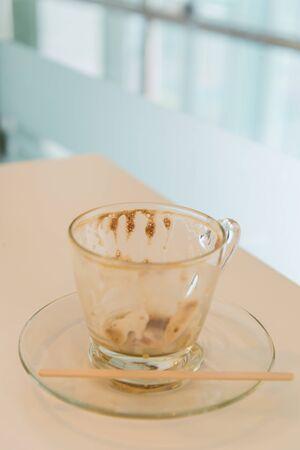 Empty Hot Coffee photo