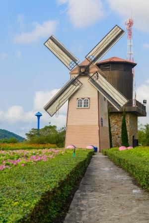 Wind Turbine at chonburi province (Thailand.) Stock Photo - 18719742