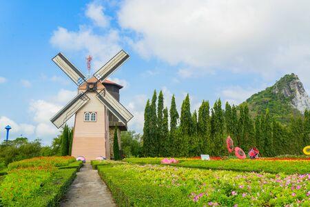 Wind Turbine at chonburi province (Thailand.) Stock Photo - 18719145