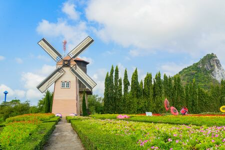 Wind Turbine at chonburi province (Thailand.) Stock Photo - 18719145
