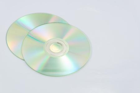 cd rom: Cd rom on white backgrounds.