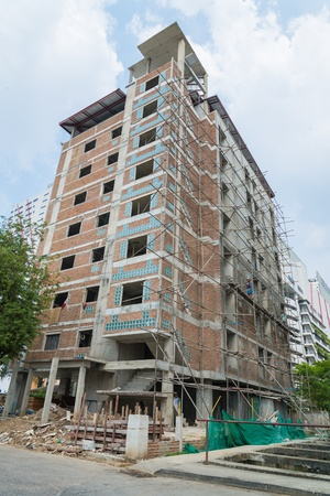 Building under contruction
