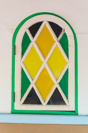 Beautiful windows from bangkok province (Thailand) photo