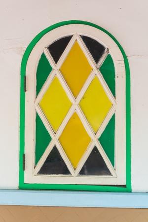 Beautiful windows from bangkok province (Thailand) photo