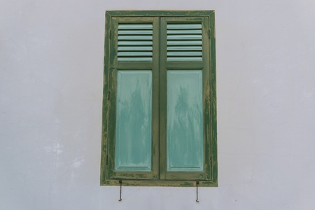 Beautiful door&window style from sanamchan castle Stock Photo - 19960219