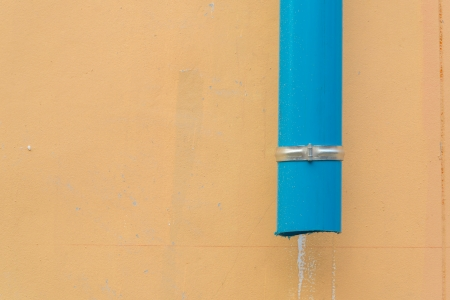 Pipe on the wall photo