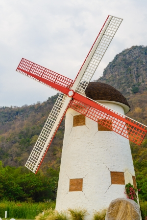 Wind turbine from thailand photo