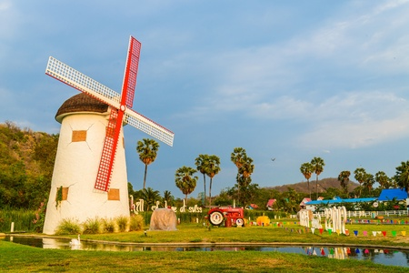watermanagement: Wind turbine from thailand Editorial