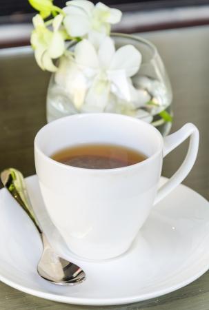 Hot tea Imagens