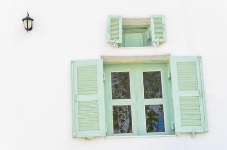 Architecture santorini style photo
