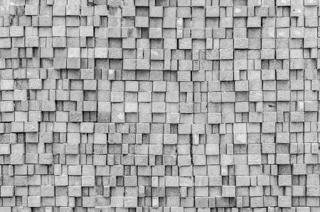 Steinbeschaffenheit für Hintergrund und Tapete (Process in schwarz-weiß-Stil)