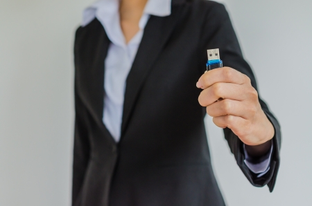 Business with usb photo
