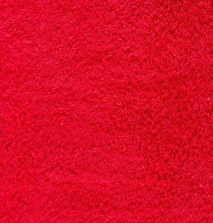 Red cotton texture for background photo