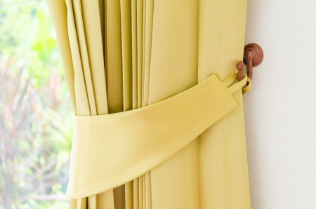 concealment: Blinds interior at home Stock Photo