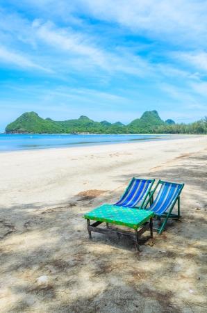Bett Am Strand In Thailand Lizenzfreie Fotos Bilder Und Stock