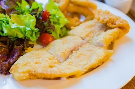 Fried fish Steak photo