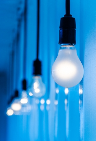 Electric lamp (Special Process) Stock Photo - 21478121
