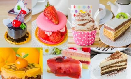 Many cake on this frame photo