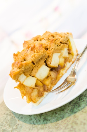 Apple cake photo