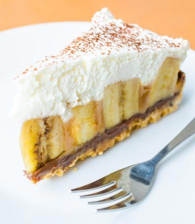 Banoffee cake photo