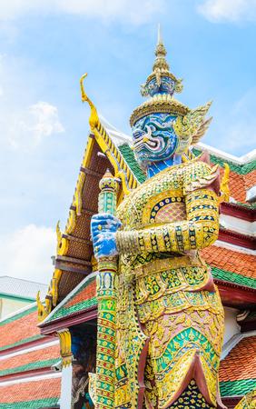 Architecture around emerald temple photo