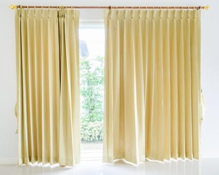 cortinas: Cortina Foto de archivo