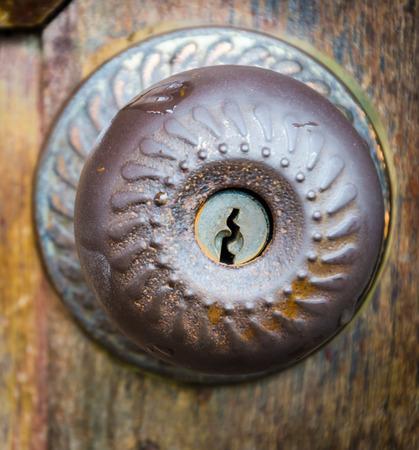 Old vintage knob photo