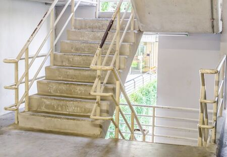 Staircase concrete photo