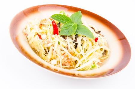 Spicy salad (Thai food) Stock Photo - 23308024