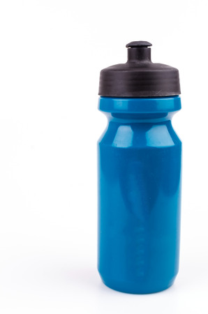 drink bottle: Bottle water on isolated white background