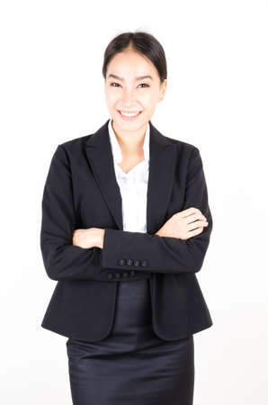 Young asian business women photo