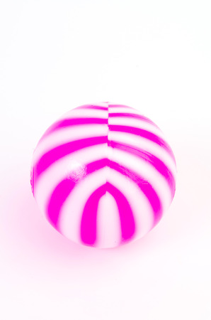 Ball on isolated white background Stock Photo