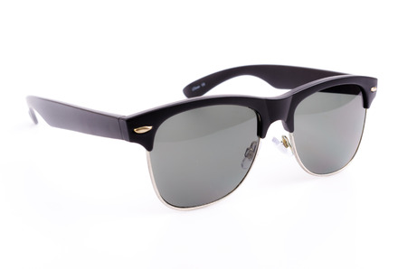 sunglasses on white background photo