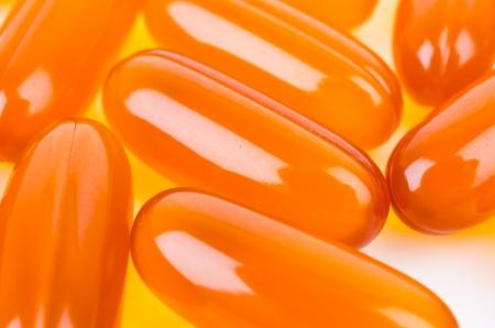 Close up soft pills photo