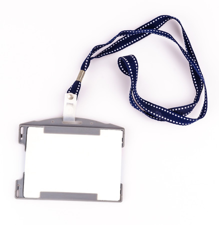 nametag: Nametag on isolated white background