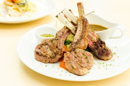 mouthwatering: Lamp chop