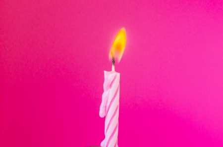 Candle with color for wallpaper photo