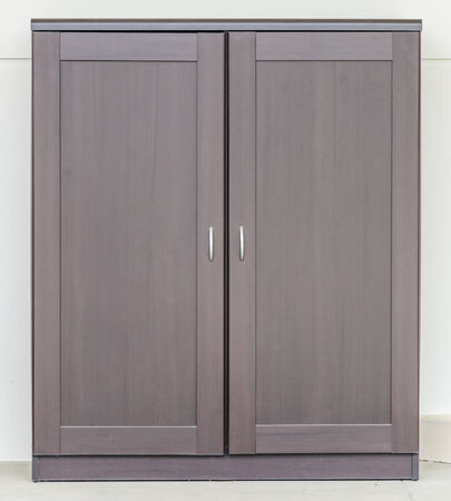 Wood cupboard furniture photo
