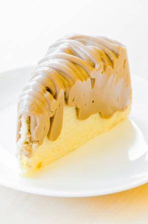 Macadamia cake Stock Photo
