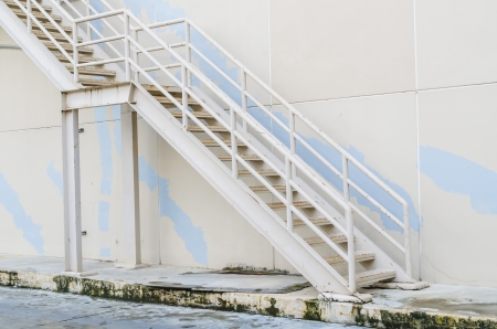 Old metal Staircase photo