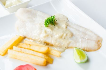 tilapiini: Pangasius steak