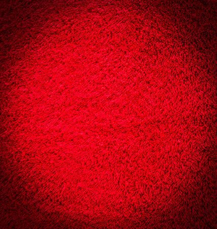 red shirt: Red cotton texture for background Stock Photo