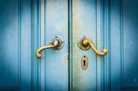 Vintage doorknob photo